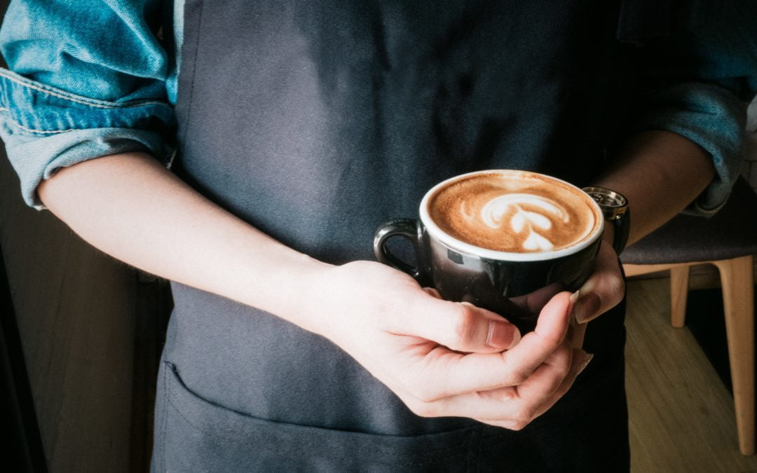 Kafeen har opna